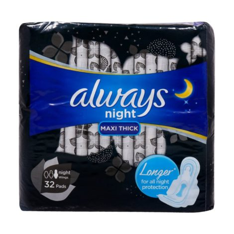 Always-Night-Maxi-Thick-with-Wings-Sanitary-Pad-32pcs