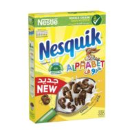 Supperkart Qatar online grocery store Nestle® Nesquik Chocolate Alphabets Breakfast Cereal