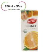 Supperkart Qatar online grocery store kdd Orange juice 250mlx6Pcs 1