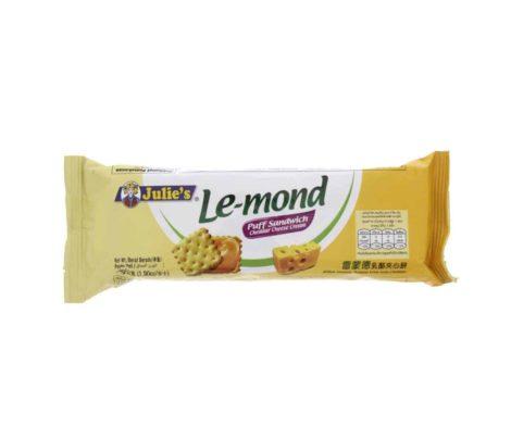 Julies Le Mond Puff Sandwich Cheddar Biscuits