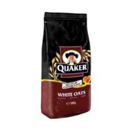 Quaker Alufoil Quick Cooking White Oats 500 pouch